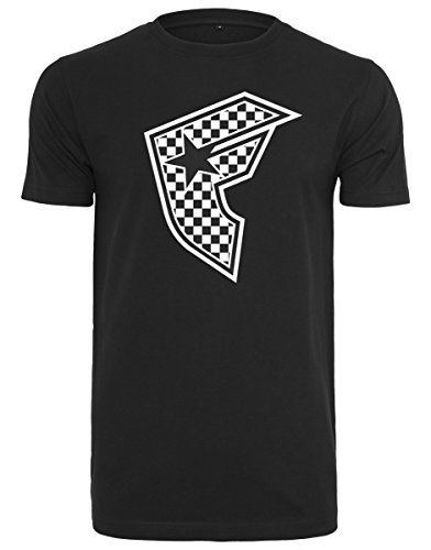 Famous Stars and Straps Herren Checker Badge Tee T-Shirt, Black, XXL (Hip-hop-rock-punk-t-shirts)