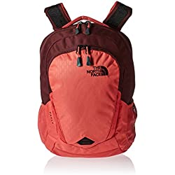The North Face Vault Mochila, Mujer, Red, Talla Única