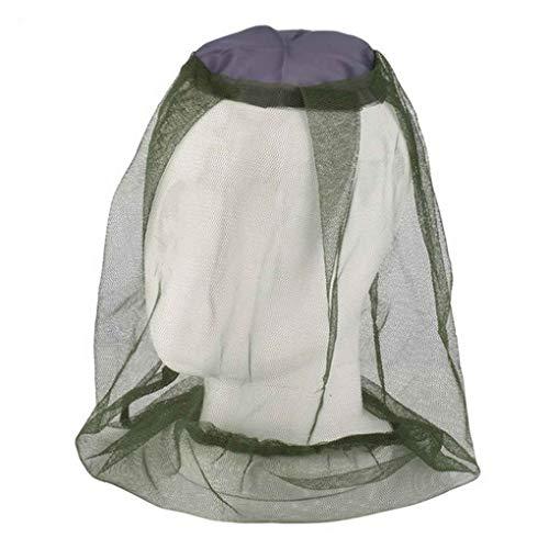 Moskito-Insekten-Hut-Wanzen-Maschen-Kopf-Netz-Gesichts-Schutz-Reise-Camping ()