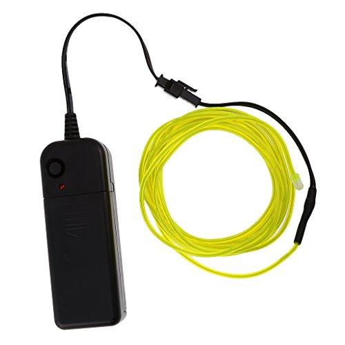 Strichmännchen Kostüm Tanz - 5M EL Kabel Neon Licht Effekt