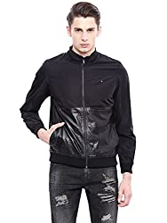 Arrow New York Mens Regular Fit Jacket (8907259393223_AJQY9415_XX-Large_Black)