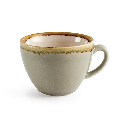 Olympia Four gp478 Tasse à cappuccino, mousse, 230 ml (Lot de 6)