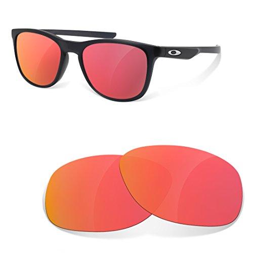 sunglasses restorer Kompatibel Ersatzgläser für Oakley Trillbe X, Ruby Red Polarisierte