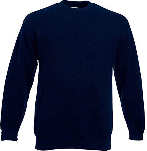 Fruit of the Loom - Set-In Sweatshirt - deep navy - Größe: L