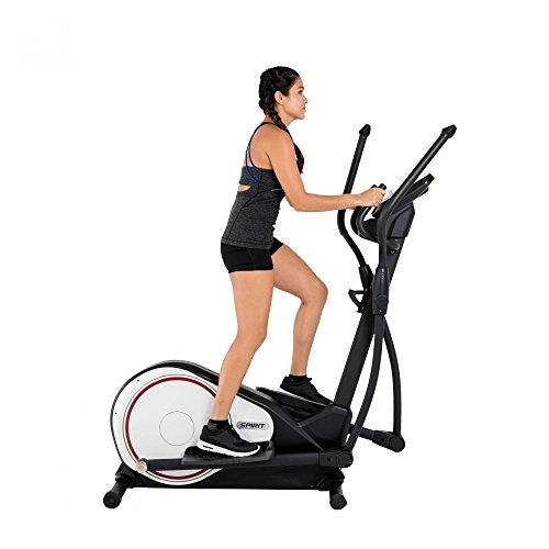Spirit Cross Trainer DRE 20 – Ellipsentrainer mit Hand-Puls-Sensoren, Ergometer, Cardio Fitness - 2
