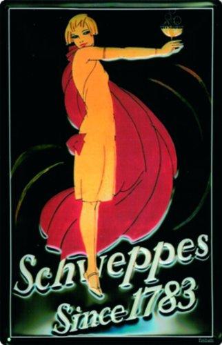 schild-alu-artdeco-schweppes-since-1783-300x200mm