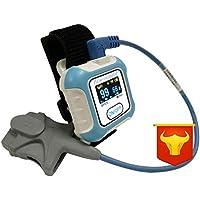 ZY Medidor De Pulso De Muñeca Bluetooth Oxímetro De Pulso SPO2 Oximetro De Dedo Medidor De Oxígeno Portátil Apnea del Sueño Examen De Oxímetro De Pulso
