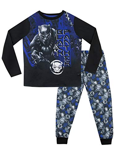 Marvel Jungen Black Panther Schlafanzug Mehrfarbig 152