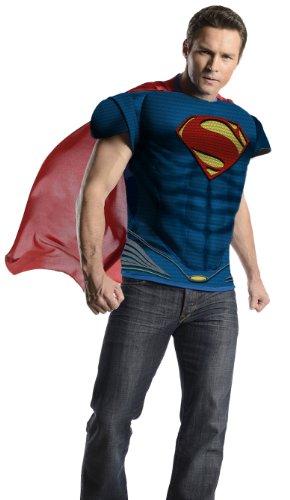 of Steel Muskelshirt Kostüm - XL (Superman Man Of Steel Kostüm)