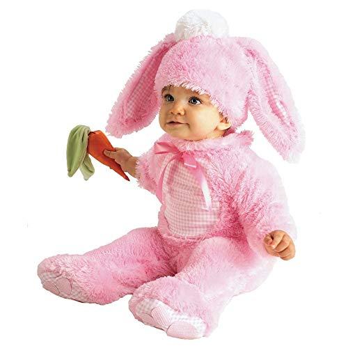 Wertvolle rosa Wabbit - Baby wachsen - Kinder Kostüm - 0 bis 6 Monate