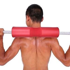 Barbell Pad Squat Pad Gewicht Pad Support Schwamm für Kniebeugen, Ausfallschritte und Hip Thrusts Hals & Schulter Schutzhülle Passend für Standard & Olympic Bars Wahl der Farben