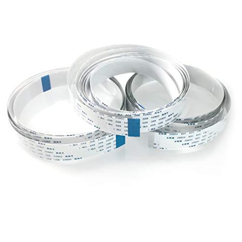 Electreeks® FFC Flachbandkabel für Raspberry Pi Kamera & Display (2x1m | 1x2m) Cam-kabel