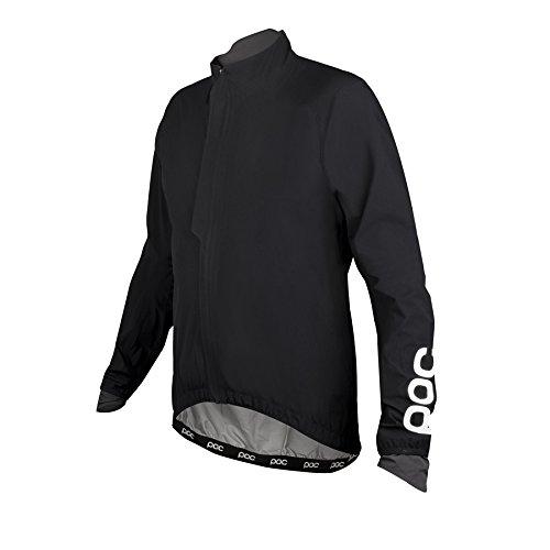 NEU Raceday Stretch Light Rain Jacket POC Size M Herren Jacken Schwarz
