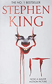 It: The classic book from Stephen King with a new film tie-in cover to IT: CHAPTER 2, due for release Septembe