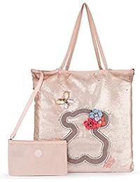 871daaa60 Tous Shopping Jodie Special Patch Rosa, Shopper para Mujer, 37x42x1 cm (W x