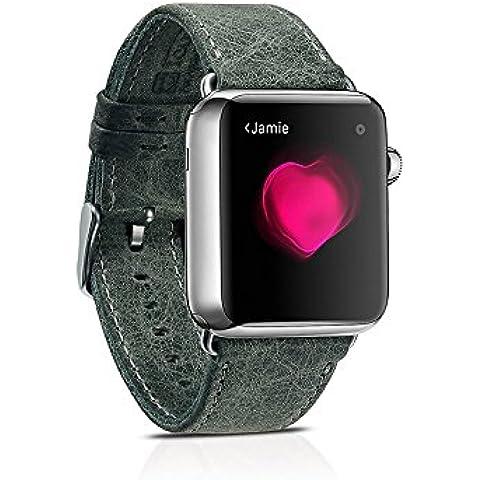 Apple Watch Band, Icarer vera pelle cinturino