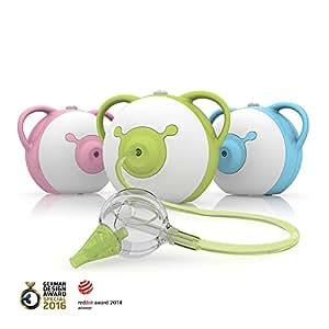 Nosiboo, der kinderfreundliche Nasensauger (elektrisch, blau) – Ein perfektes Babyparty-Geschenk!