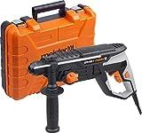 Meister Pneumatischer Bohrhammer 1050 Watt, MPH1050-1 - SDS-Plus Aufnahme - 3 Joule Schlagenergie - Tiefenanschlag / Bohrmaschine mit Hammerwerk / Kombihammer im Koffer / 5452810