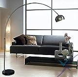 Sospensione Luce Nordico E27 Chrome Black Marble Led Pieghevole Lampada Da Terra Ad Arco Rotante Per Lavoro D'Ufficio E Studio Lampada Soggiorno Camera Da Letto Studio