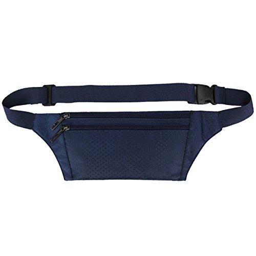 Multifunktionale Outdoor Fitness Sporttaschen Mehrfarbig Navy