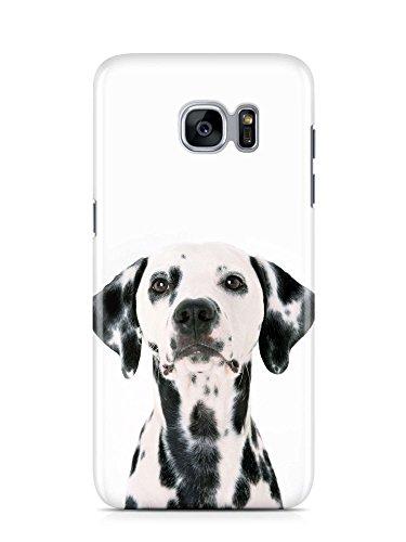 COVER Dalmatiner Hund dog Handy Hülle Case 3D-Druck Top-Qualität kratzfest Galaxy S7