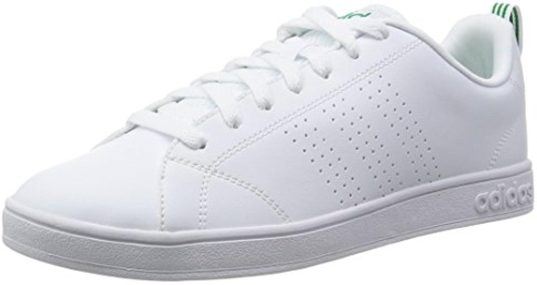 Adidas Advantage Clean Vs, Zapatillas para Hombre, Blanco (Ftwbla/Ftwbla / Verde), 44 2/3 EU