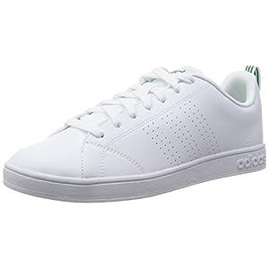 official photos 4e0c1 c3af5 adidas Advantage Clean VS, Baskets Basses Homme, Blanc, EU, BlancVert  (FtwblaFtwblaVerde), 46 23 EU