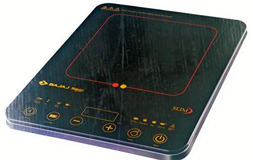 Bajaj Majesty Plastic Slim Induction (Black, 18.5 IN)