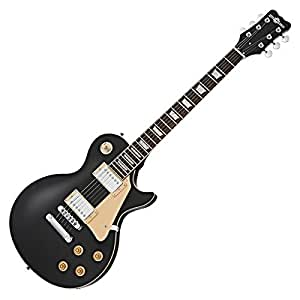 new jersey electric guitar by gear4music black musical instruments. Black Bedroom Furniture Sets. Home Design Ideas