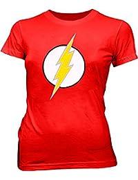 The Flash Dc Comics Lightning Bolt Logo rot Kinder T-Shirt