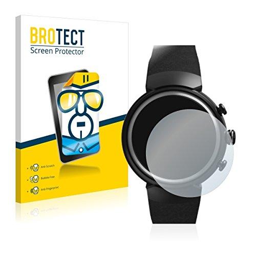 2X BROTECT HD Clear Bildschirmschutz Schutzfolie für ASUS ZenWatch 3 1.39 (kristallklar, extrem Kratzfest, schmutzabweisend)