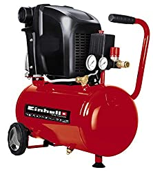 Einhell Compressor TE-AC 230 / 24 / 8 (1.500 W, max 8 bar, 24 l tank, oil lubrication, check / safety valve, 2 pressure gauge + quick release)