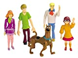 Everybody's favorite meddling kids are back in action with the Scooby-Doo Mystery Solving Crew. Adventure figures Velma, Scooby, Shaggy, Daphne and Fred are durable, poseable, colorful and designed to look just as they do on TV and in the movies. Act...
