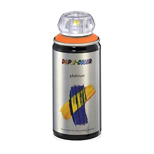 Duplicolor 203312 Platinum Spray, Color Naranja Pastel Mate, 150 ml