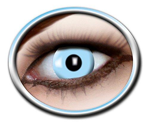 Eyecatcher Motivlinsen - farbige 3-Monats-Kontaktlinsen - ice blue m13