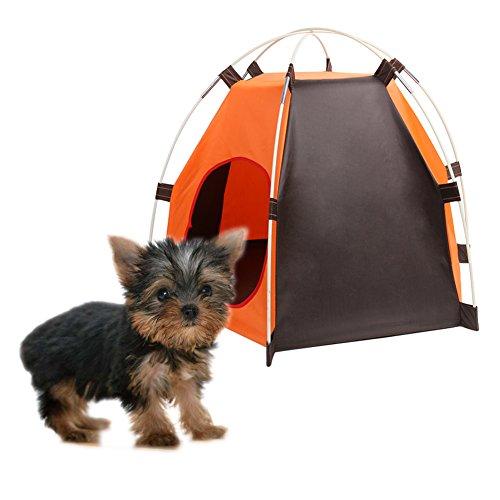 Norson Haustier Falten Zelt Nest Portable Outdoor Kleine und Mittelgroße Hund Sonnenschutz, Regenwasser Welpen, Katze Nest -