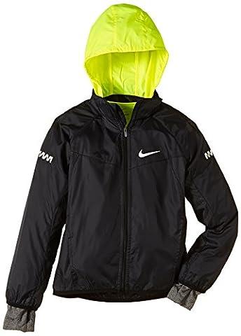 NIKE vapor veste pour garçon Noir Noir/jaune fluo/gris/argenté réfléchissant XS