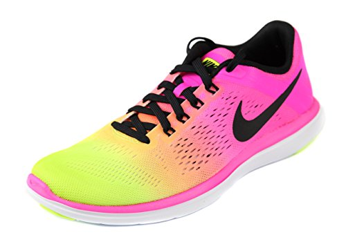 Nike Mädchen Wmns Flex 2016 Rn Oc Laufschuhe Schwarz (Mehrfarbig / Multi-Color)