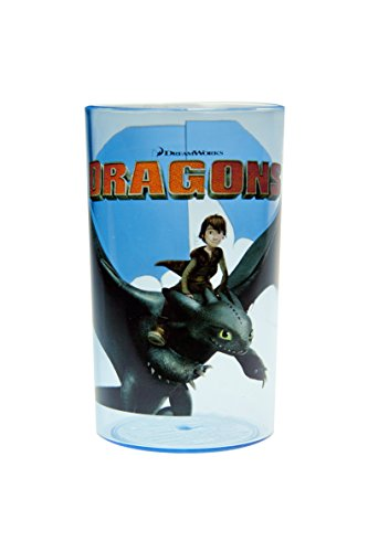 Dragons Trinkglas 250ml kindgerecht aus weichmacherfreiem Kunststoff