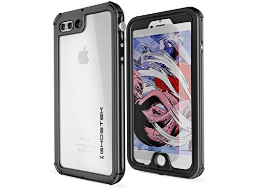 iPhone 7 Plus Coque étanche, Ghostek Atomic 3 Series pour Apple iPhone 7 Plus| Underwater | résistant aux chocs | anti colmatage | Snow-proof | Cadre en aluminium | Adventure Ready | Ultra Fit | Natation
