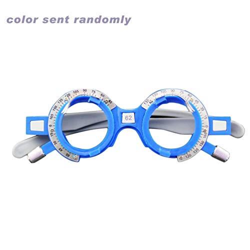Justierbarer optischer Versuchsobjektiv-Rahmen 52-70mm PD Augen-Optometrie-Optiker-Plastikbrillen-Rahmen-Brillen-Zubehör