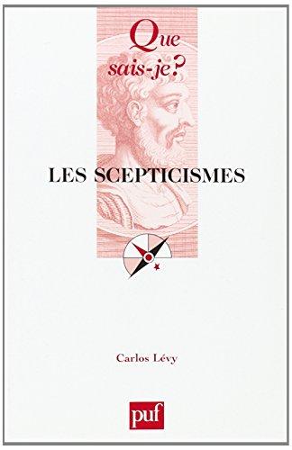 Les scepticismes