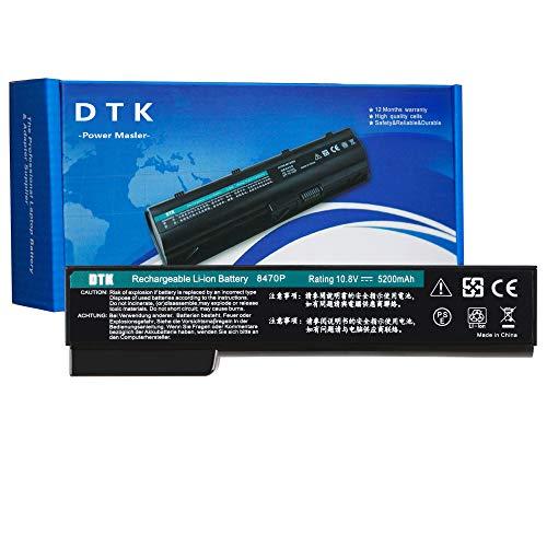 DTK CC06XL HSTNN-F08C QK642AA 628666-001 CC06 BB09 Laptop Akku Ersatz für HP EliteBook 8470P 8460p 8460w 8470w 8560p 8570p ProBook 6360b 6460b 6465b 6560b 6565b (10.8V 5200mAh 6-Cell)