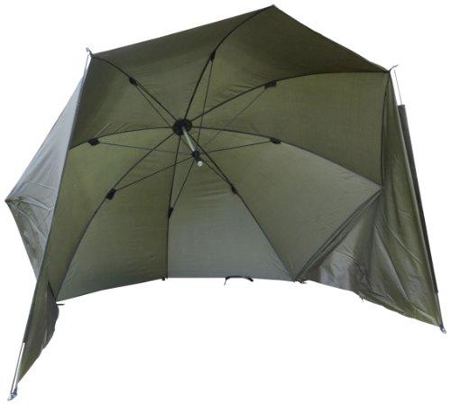 Zebco Erwachsene Schirme Brolly 250, Mehrfarbig, 9979250