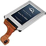 OWC Mercury Aura Pro 120GB - Disco duro sólido (Plata, Micro Serial ATA II, MLC, 128-bit AES, 0 - 70 °C, MBA)