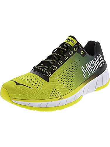 HOKA ONE ONE Men's Cavu Sulphur Spring/Anthracite Running Shoe 8.5 Men