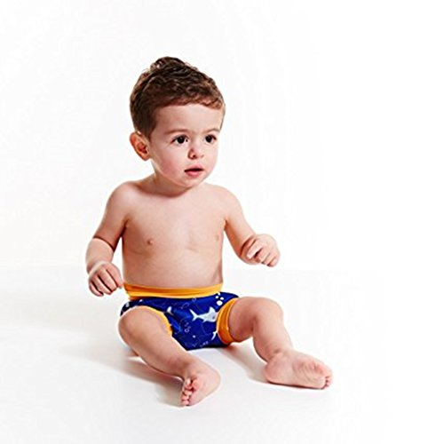 Zilee Baby Swim Diaper Swim Trunk Reusable Briefs - Kids Swim Nappy Swimsuit Toilet Training Pants For Boys Girls