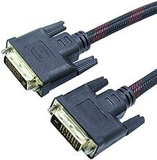 Thrumm DVI1.5M 1.5m DVI Double Link Cable (Black)