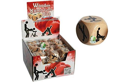 Kama Sutra juego de dados de madera–extensible adulto romántico Fun. Regalos de Navidad