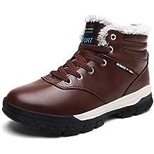 SINOES Zapatos de Senderismo al Aire Libre Zapatos de Escalada Zapatillas de montaña Ideal para Deportes
